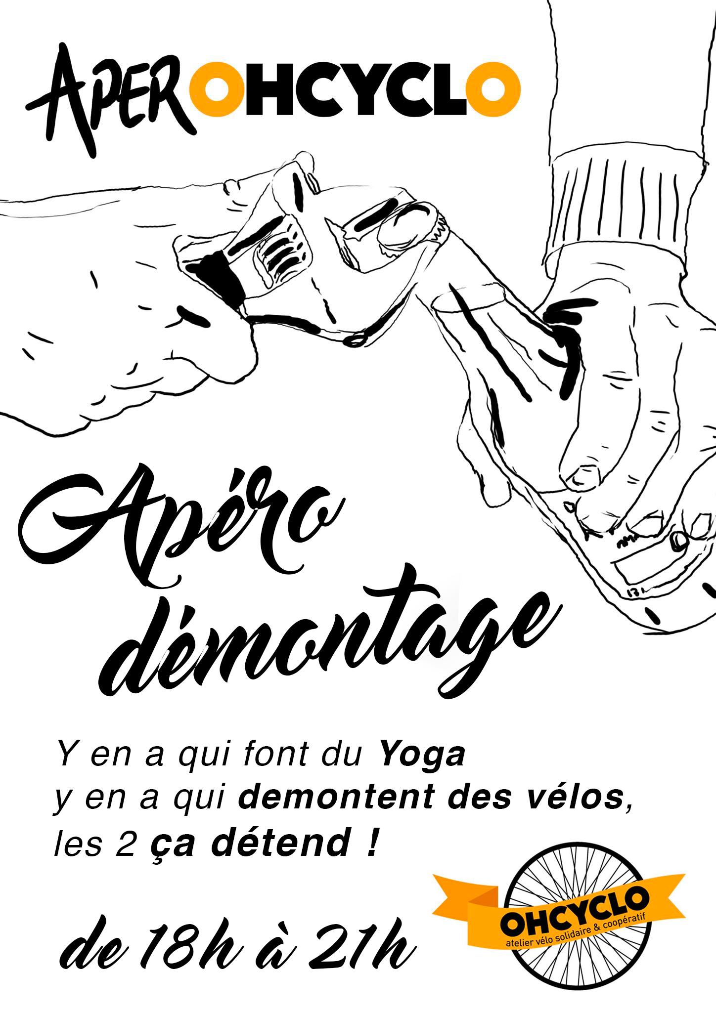 Soirée démontage @ OHCYCLO