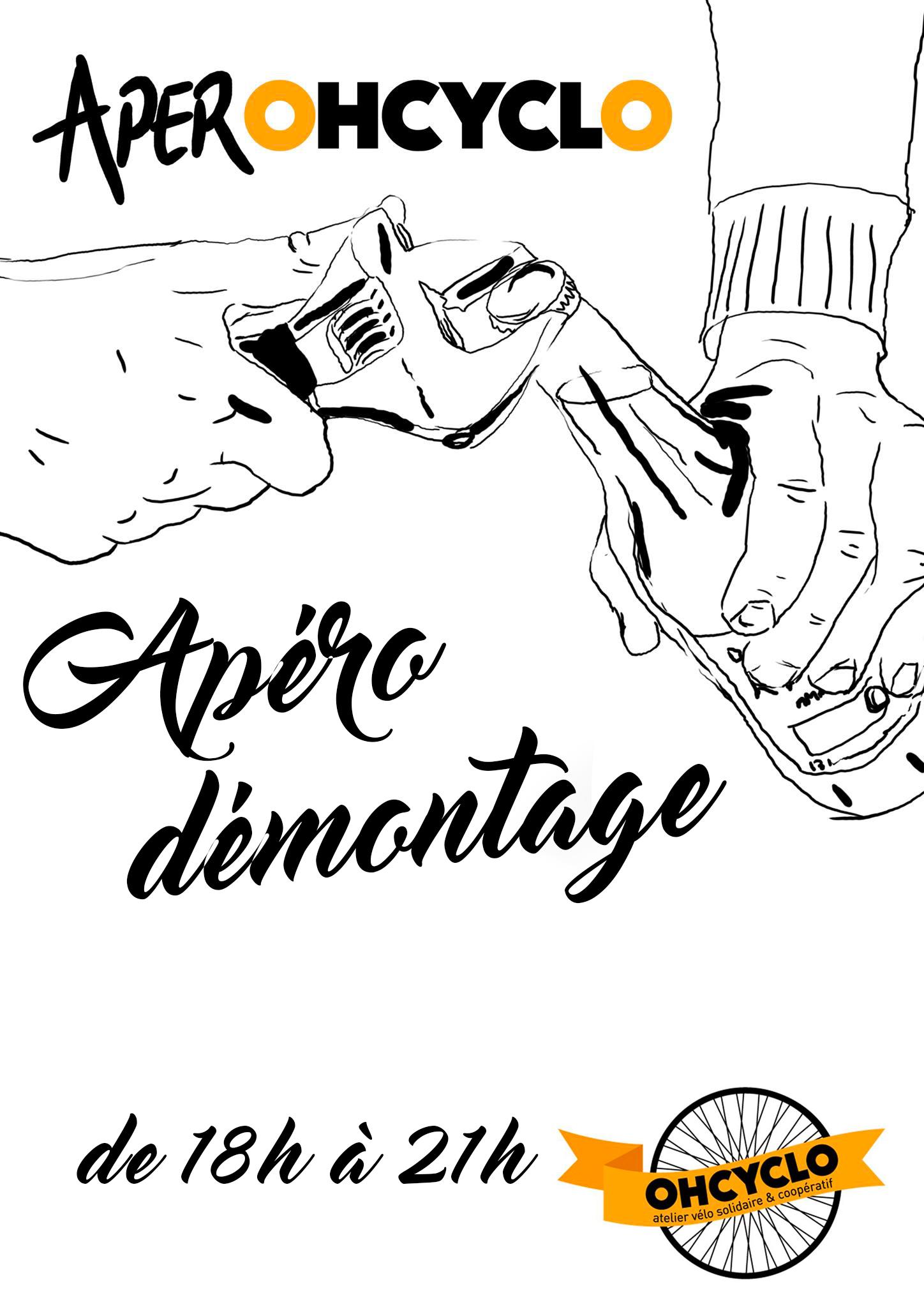 Soirée Démontage @ Atelier OHCYCLO