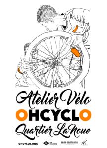 Atelier mobile d'autoréparation de vélos - La Noue