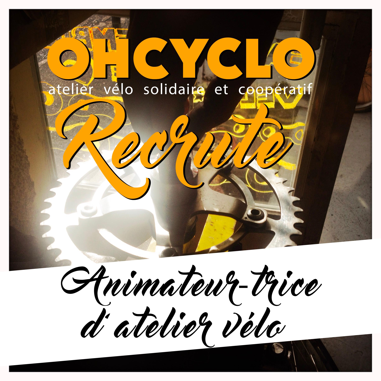 OHCYCLO RECRUTE