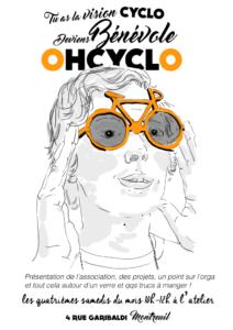 Matinée d'accueil bénévoles @ OHCYCLO