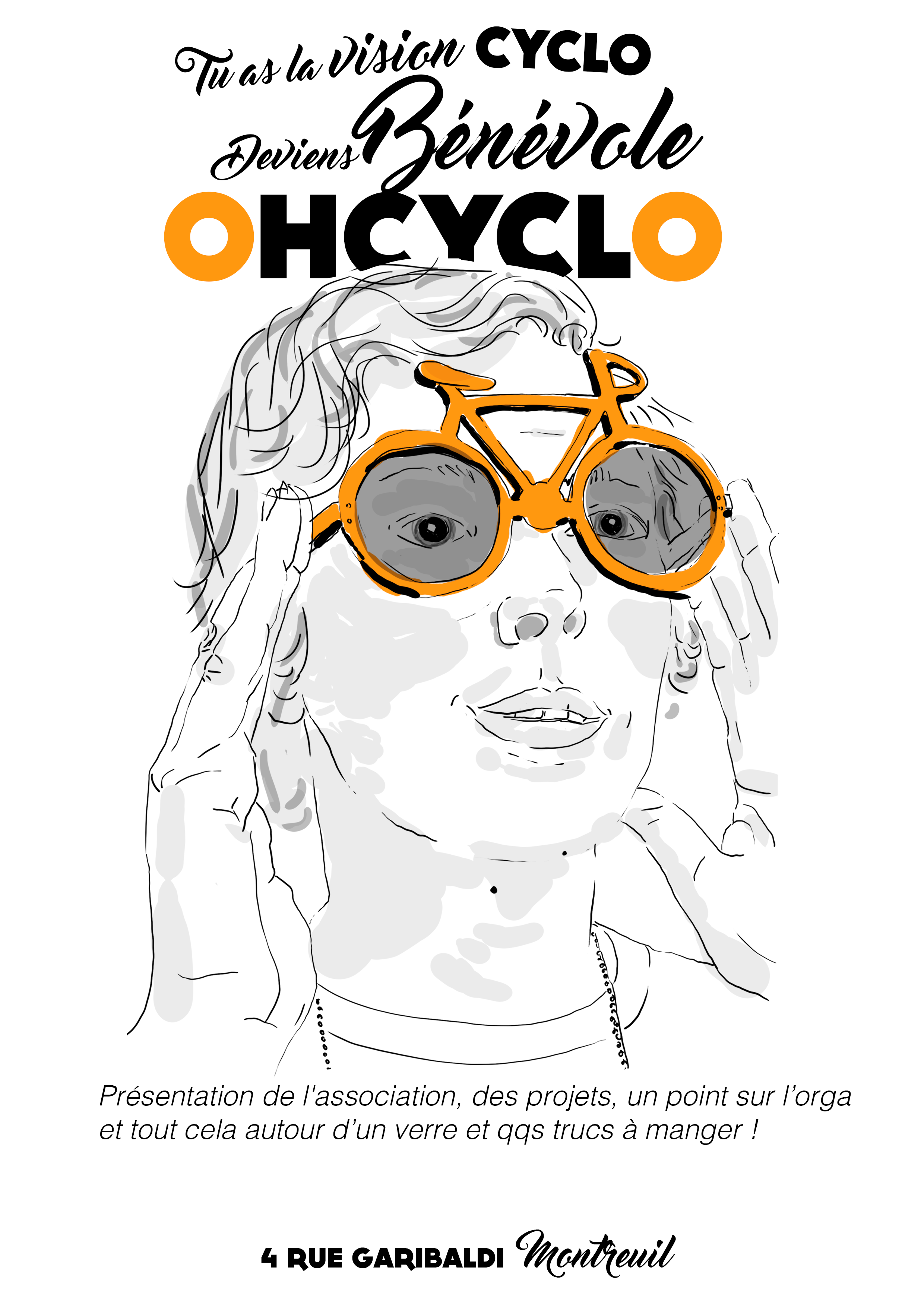 Matinée bénévoles samedi 7/12 10h-12h @ Atelier OHCYCLO