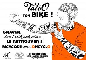 OHCYCLO lutte contre le vol des vélos