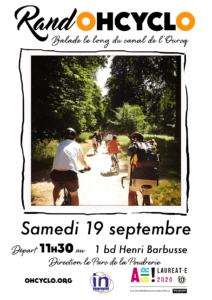 BALADOHCYCLO Canal de l'Ourcq