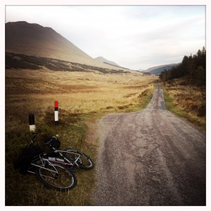 21h Départ BRIDGE OF ORCHY