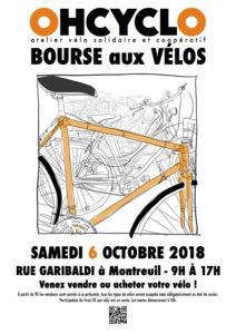 Bourse aux vélos – Samedi 6 octobre 2018
